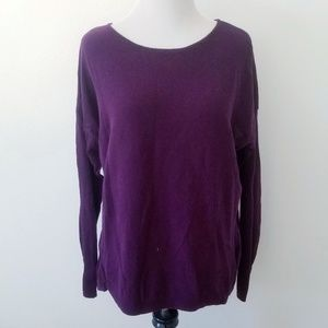 Old Navy Plum Lightweight Sweater